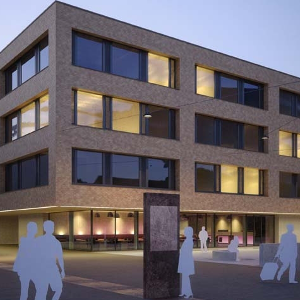 Neubau vonRoll-Areal, 1. Etappe Institutsgebäude