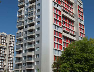 Sanierung Hochhaus Kranichweg 2+4, Muri b. Bern