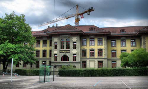 Gesamtsanierung und Erweiterung Volksschule Länggasse gross, Bern